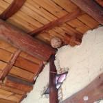 リフォーム工事 蜂の巣